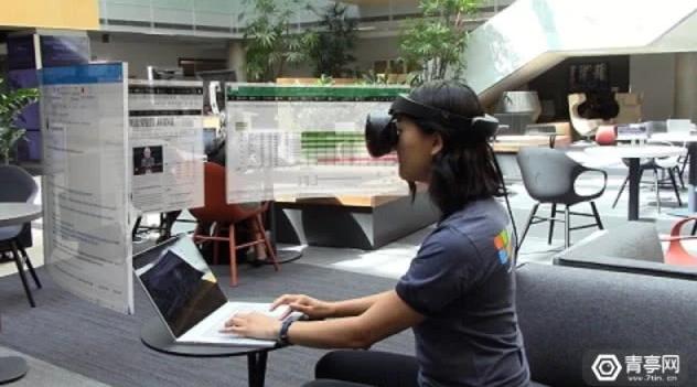 微软公开Mt.Rogers VR办公解决方案演示视频