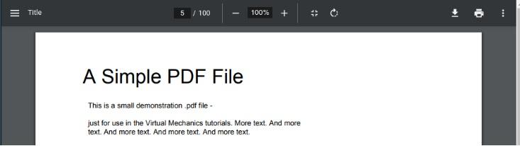 谷歌为Chrome PDF 阅读器 开发一种改进的UI