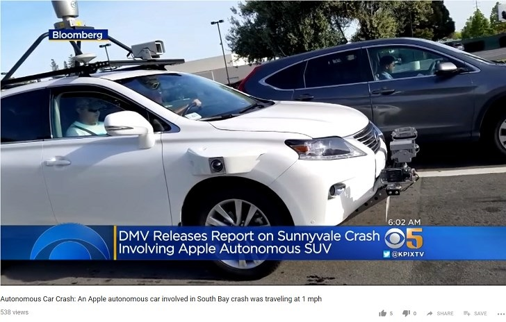 苹果自动驾驶汽车或许至少还要等 5 年