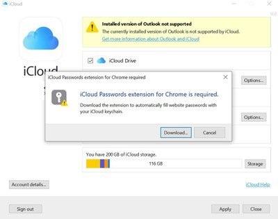 苹果计划将推出Windows版iCloud的Chrome扩展程序