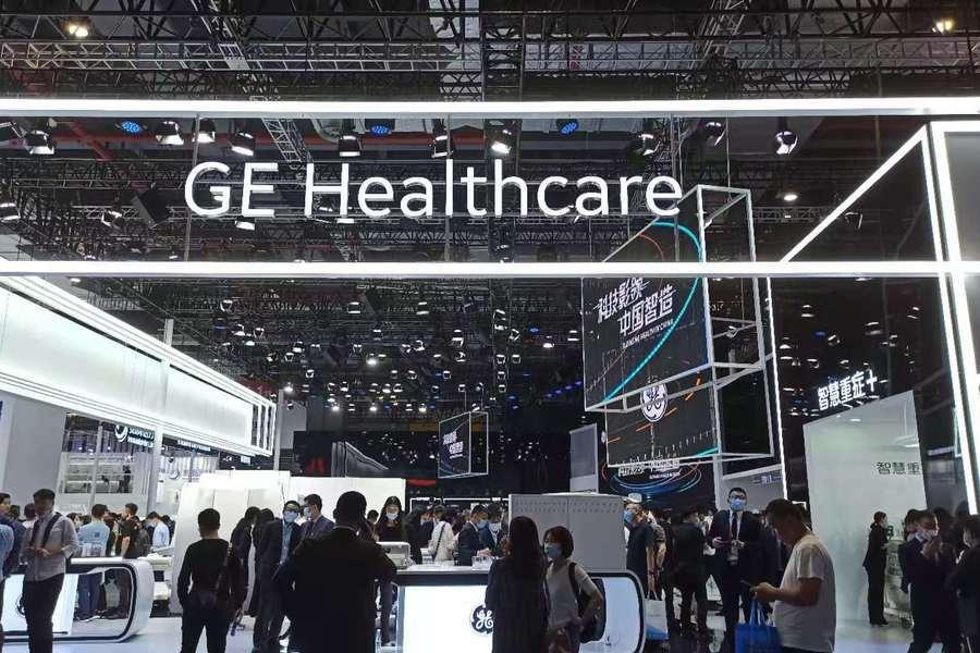 """应对""""国产替代"""":GE医疗超高端国产256排CT亮相CMEF"""